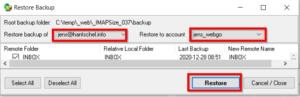 Postfächer von Webhoster zu Webhoster umziehen